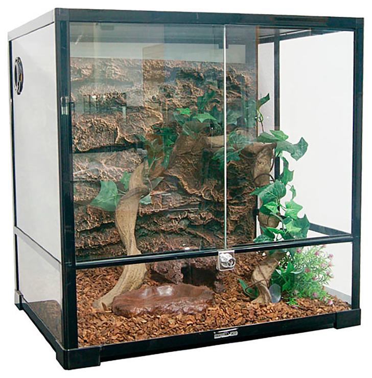 Террариум для рептилий, для амфибий Repti-Zoo RK0105, 45 x 45 x 45 см фото