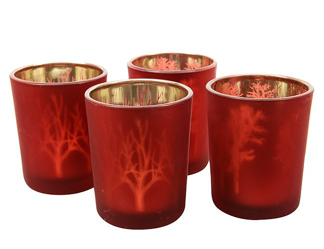 Kaemingk Подсвечник стакан Волшебный лес 6*7
