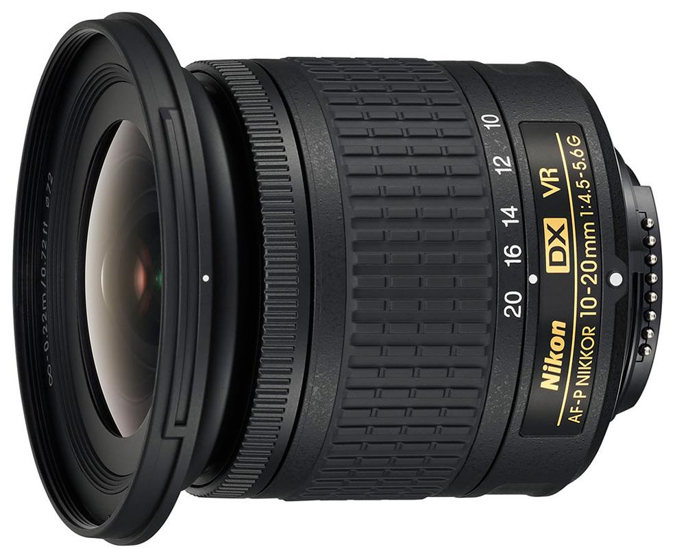 Объектив Nikon AF-P DX Nikkor 10-20mm f/4.5-5.6G VR фото