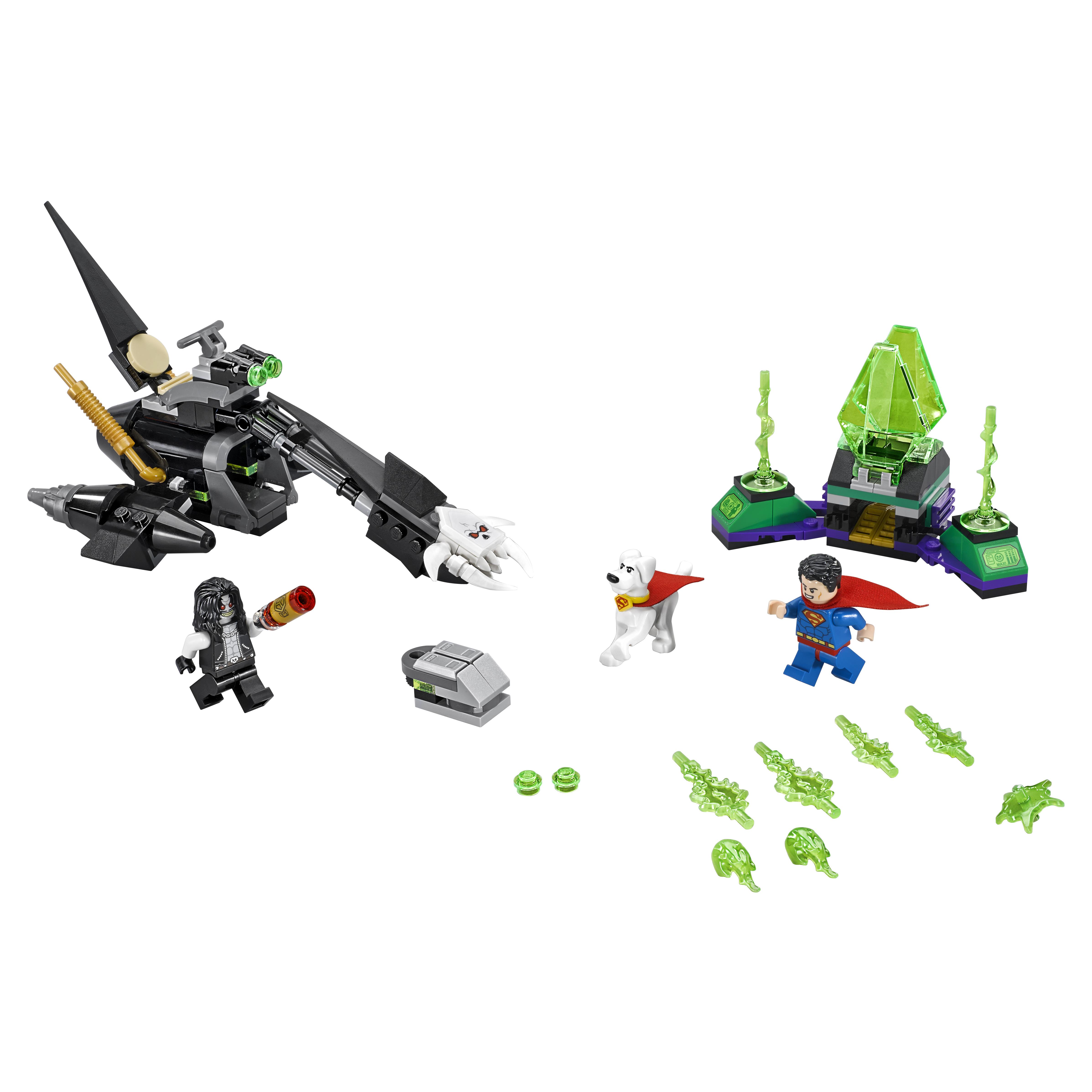 Купить Конструктор lego super heroes супермен и крипто объединяют усилия (76096), Конструктор LEGO Super Heroes Супермен и Крипто объединяют усилия (76096)