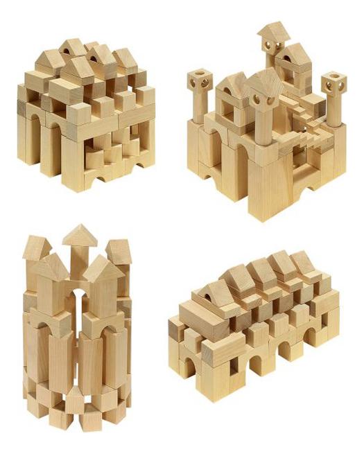 Купить Конструктор деревянный ПЕЛСИ Сказочные замки, Пелси,