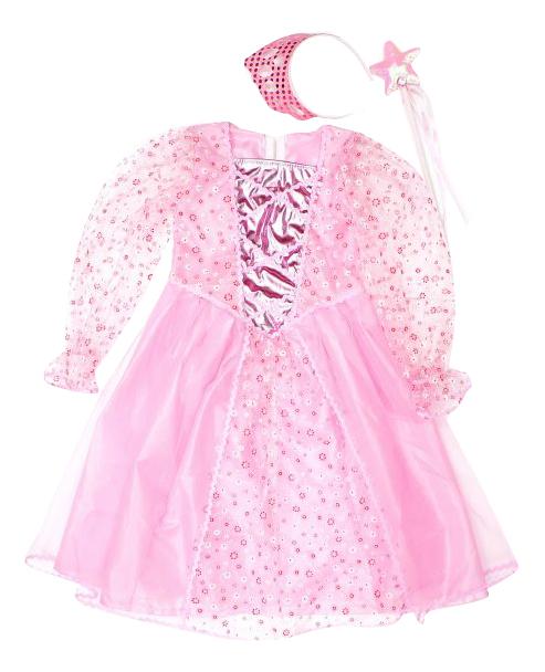 Карнавальный костюм Новогодняя сказка Принцесса, цв. розовый р.104 972146
