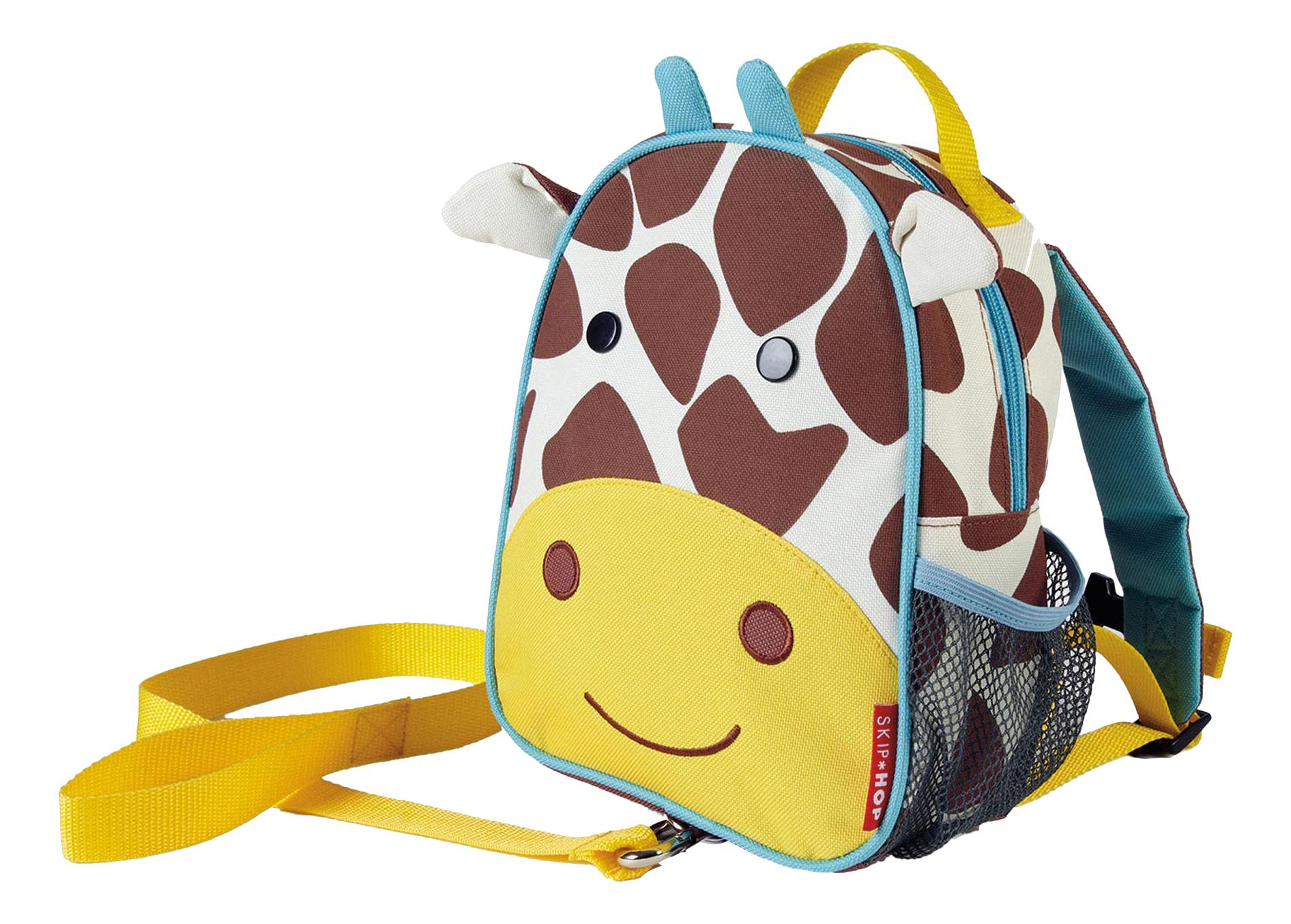Купить Рюкзак детский Skip Hop с поводком Жираф SH 212258, Школьные рюкзаки и ранцы