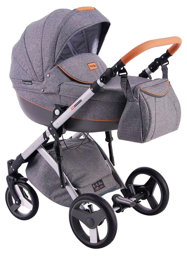 Купить Коляска 2 в 1 Lonex Comfort Prestige Серая, Детские коляски 2 в 1
