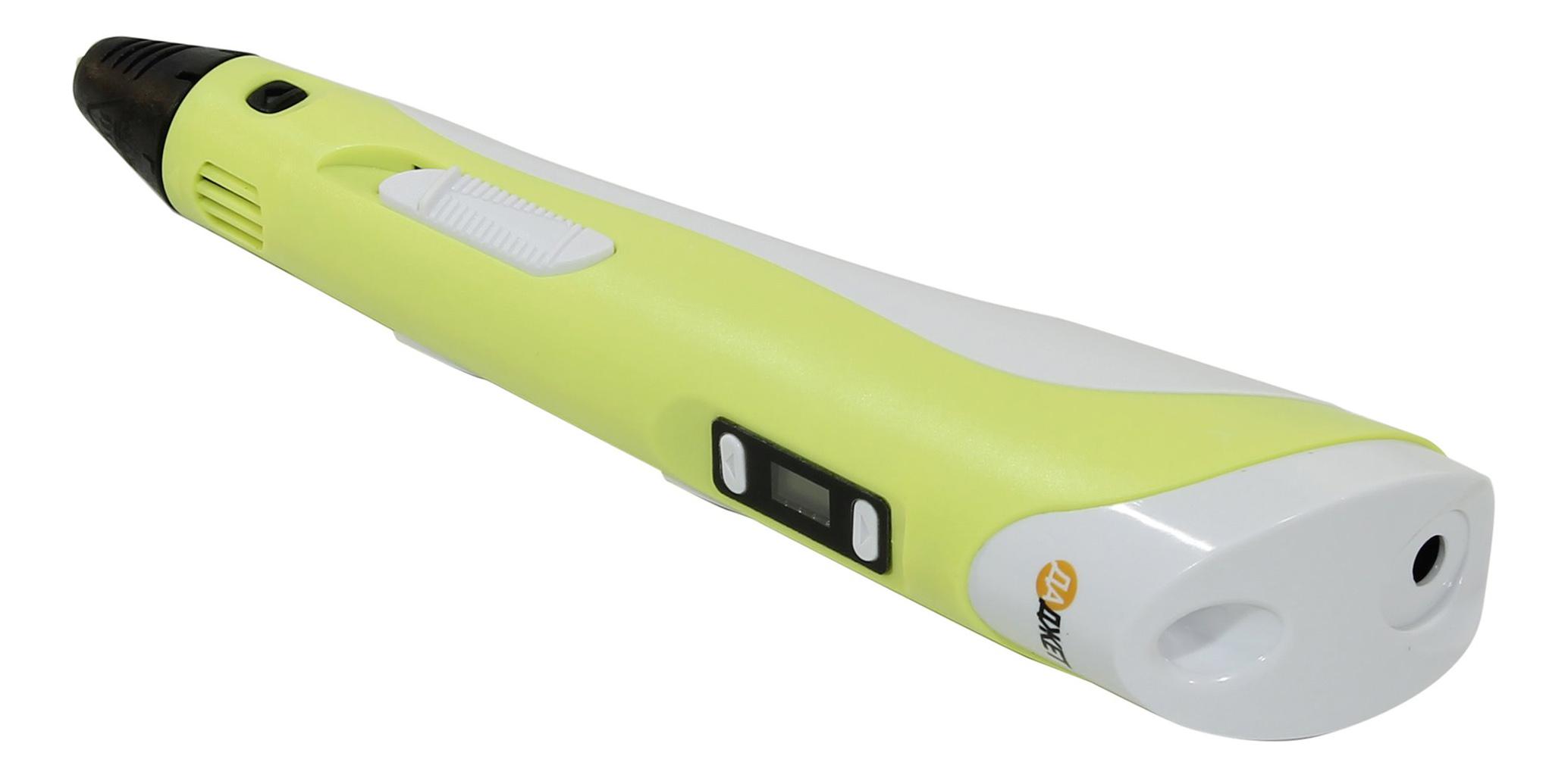 Ручка 3D Даджет с дисплеем жёлтая KIT_FB0021Y фото