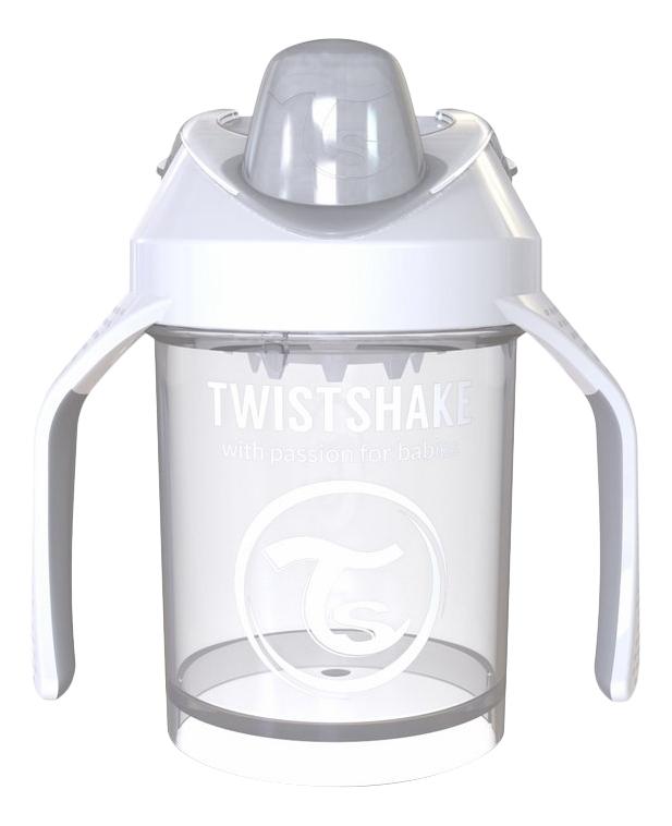 Поильник Twistshake Mini Cup 230 мл (с 4 мес) белый