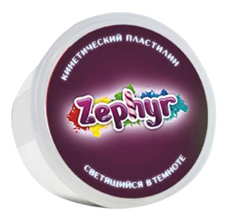 Масса для лепки Белая светящаяся в темноте Zephyr 00-00000825