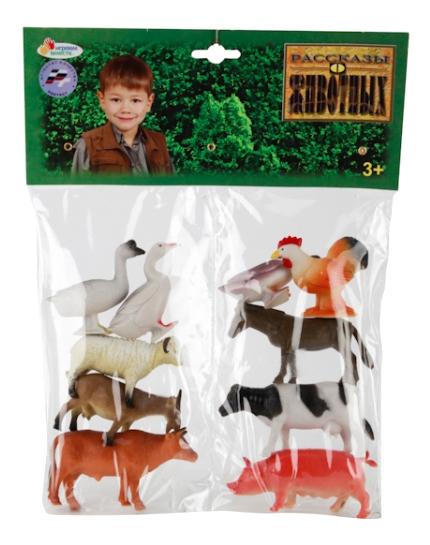 Купить Набор из 10 домашних животных Играем вместе 10 см HA2496S, Играем Вместе, Фигурки животных