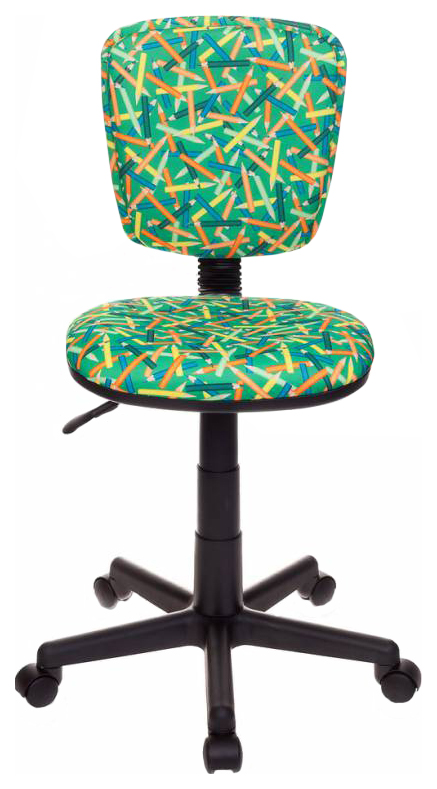 Купить Детское компьютерное кресло Бюрократ CH-204NX/PENCIL-GN Зеленые карандаши, Детские стульчики