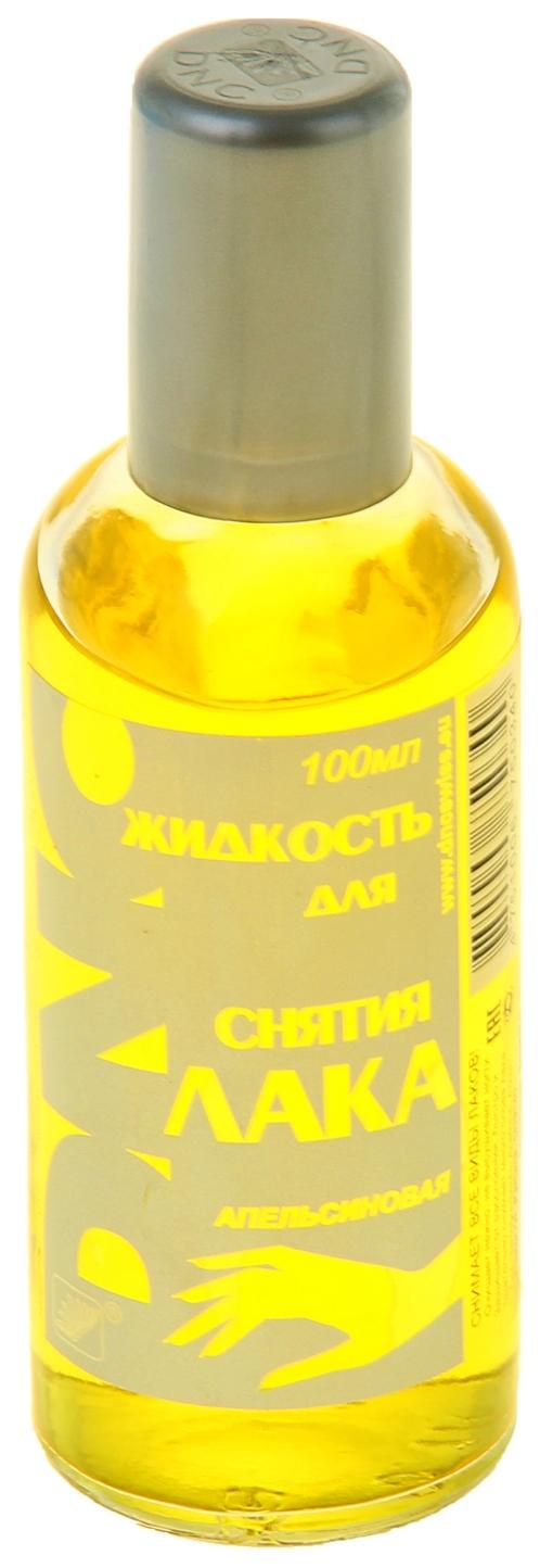 Жидкость для снятия лака DNC Апельсиновая