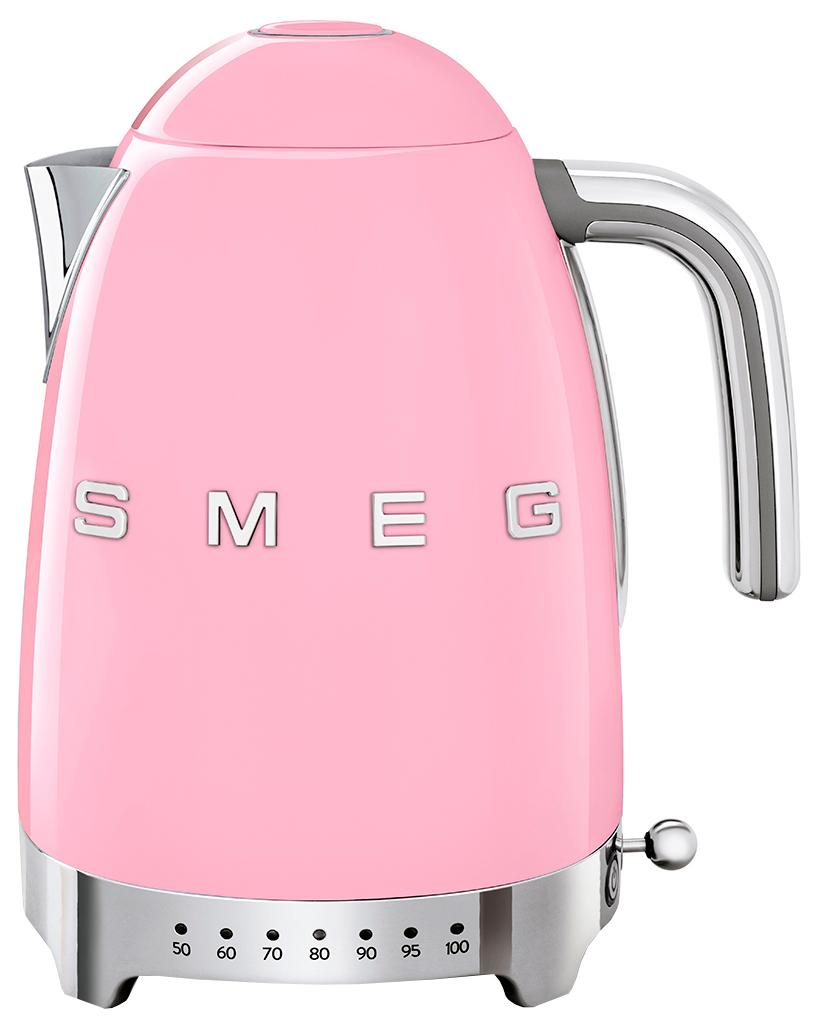 Чайник электрический Smeg KLF04PKEU Pink