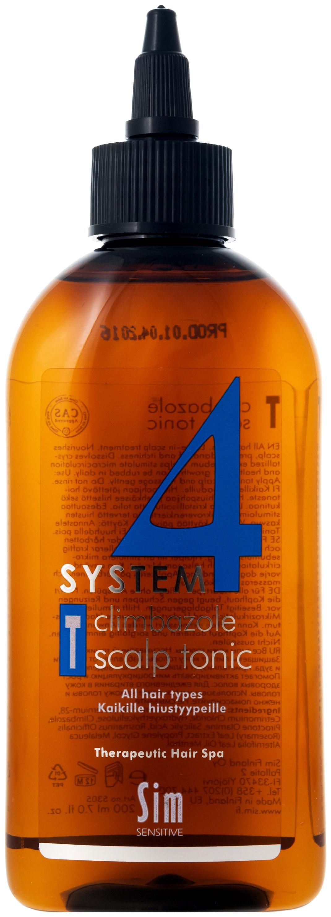 Тоник для волос Sim Sensitive System 4 200 мл