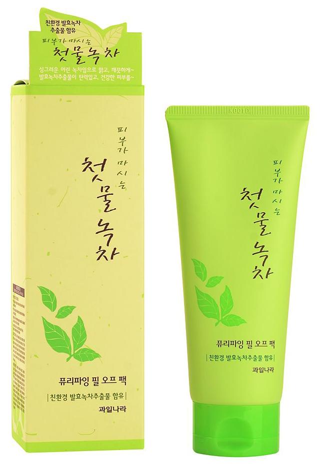 Купить Маска-пленка для лица Welcos очищающая, 150 г, Green Tea Purifying Peel Off Pack