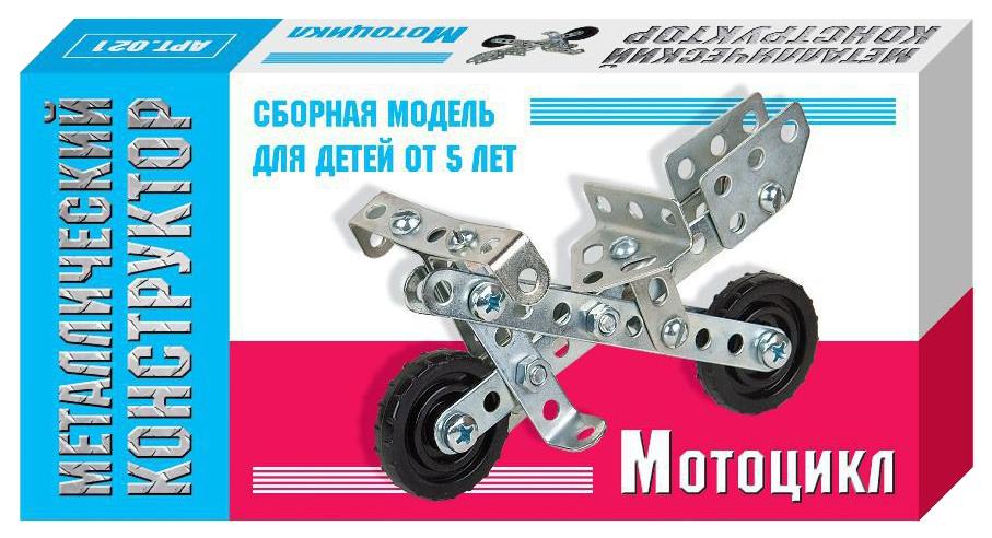 Конструктор металлический Десятое королевство Мотоцикл