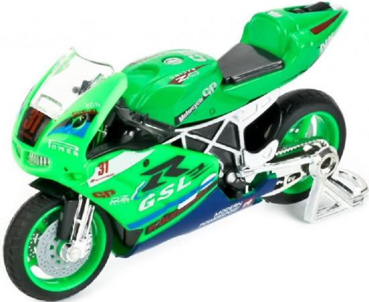 Мотоцикл Технопарк Мотоцикл зеленый 532116-r фото