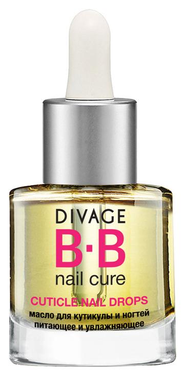 Масло для ногтей Divage BB Nail Cure Cuticle Nail Drops 6 мл