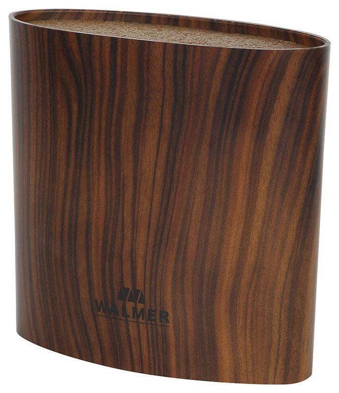 Подставка для ножей и ножниц WALMER Wood