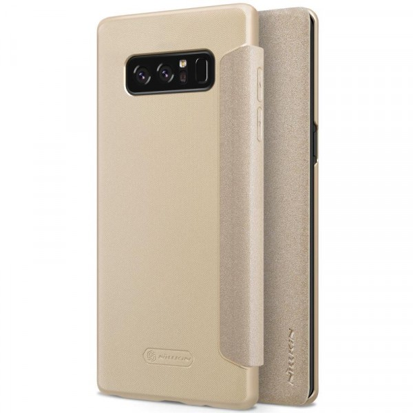 Чехол  Nillkin Sparkle Series для Samsung Galaxy Note 8 Gold