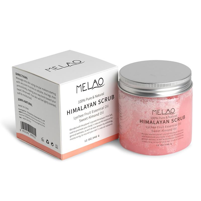 Скраб для тела Melao с розовой гималайской