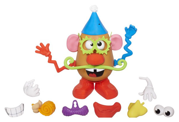 """Игровой набор Mr Mrs Potato Head Playskool """"Отвязная картофелина"""", 20 деталей Hasbro"""
