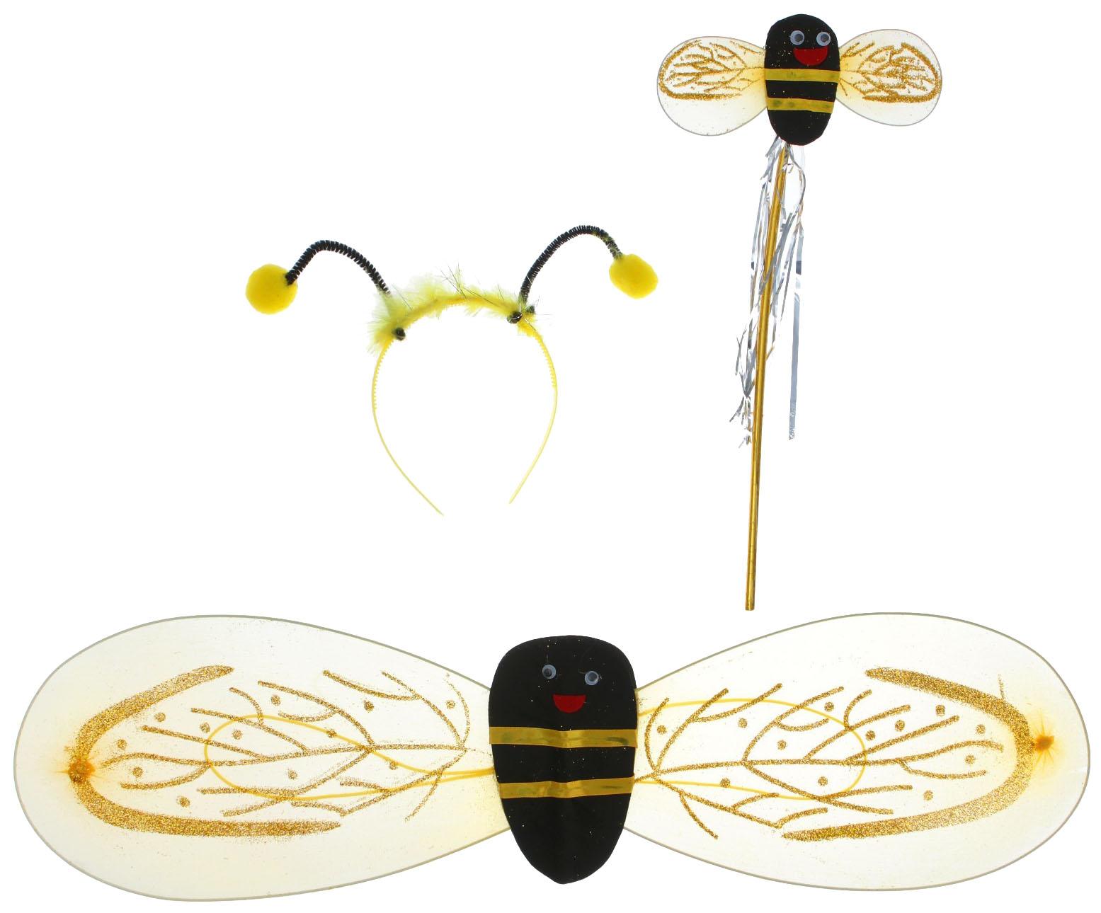 Карнавальный костюм Sima land Пчела, цв. желтый