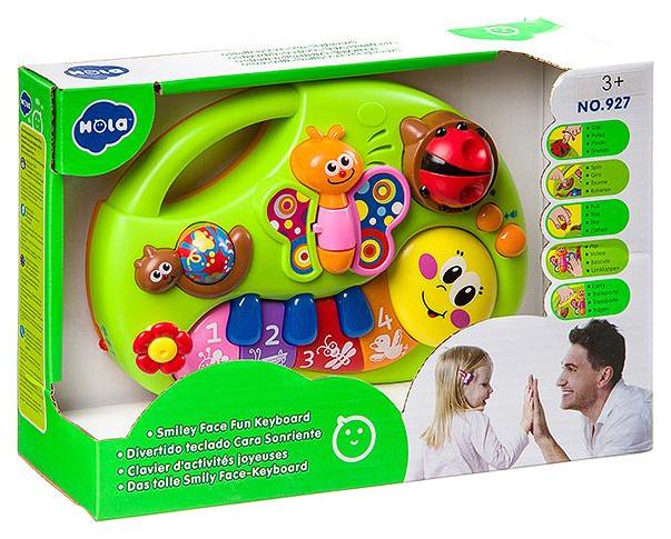 Купить Игрушка на бат. Пианино-гусеница, ВОХ 23, 5?8?15 см, 2 вида, арт. 927., Shenzhen Toys, Детские музыкальные инструменты