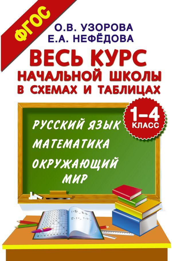 Весь курс начальной Школы В Схемах и таблицах. 1-4 класс. Русский Язык, Математика, Окр...