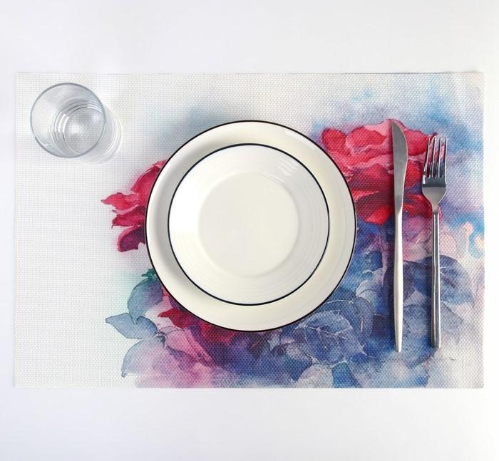 Салфетка кухонная на стол 45х30 см Сима-ленд 2834559