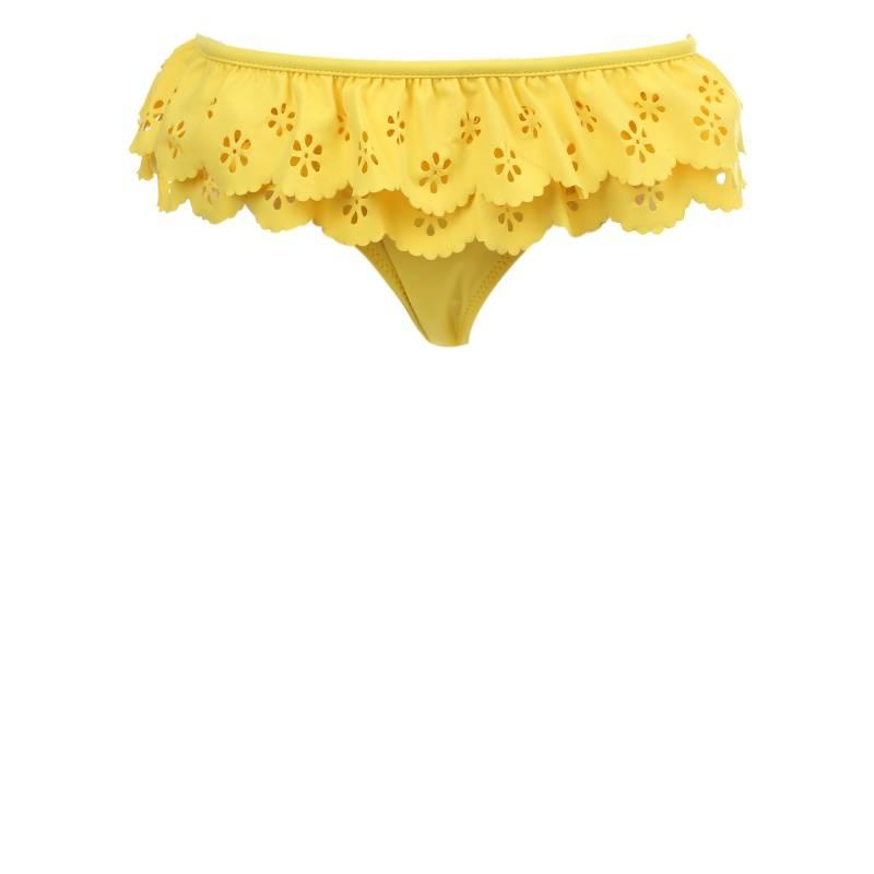 Купить Комплект купальных трусов 2 шт MAYORAL, цв. желтый, 116 р-р, Детские купальники для бассейна