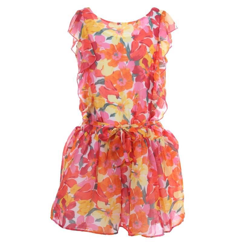 Купить Платье MAYORAL, цв. коралловый, 152 р-р, Детские платья и сарафаны