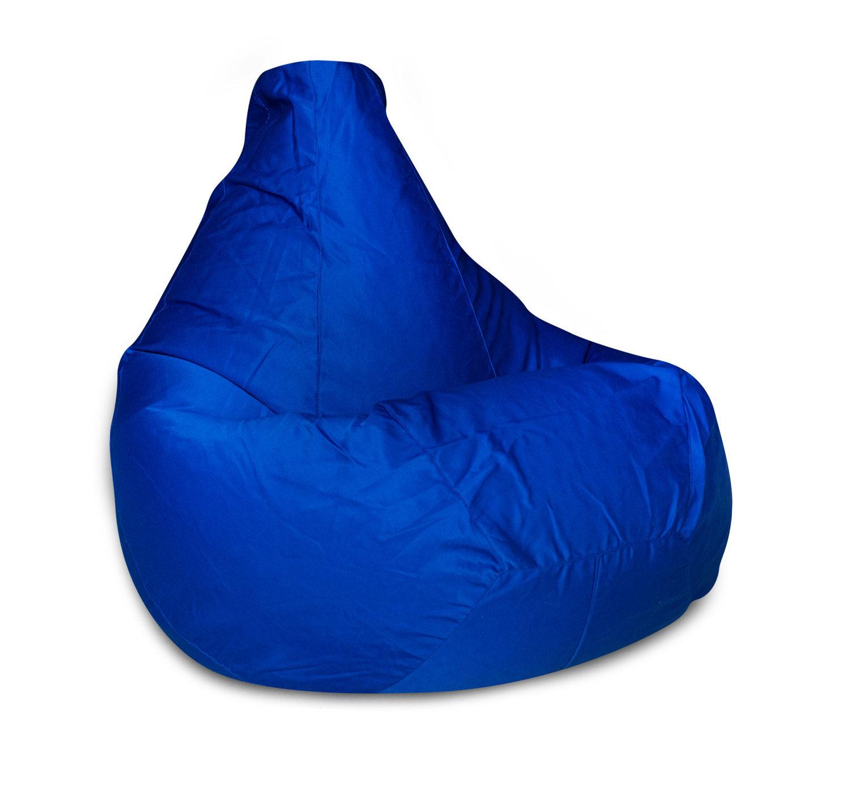 Кресло-мешок DreamBag Фьюжн, размер XXL, полиэстер, синий фото