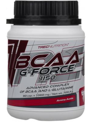 Trec Nutrition BCAA G-Force 90 капсул без вкуса фото