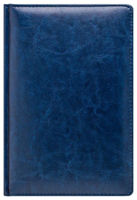Ежедневник датированный на 2020 год Nature, А5, линия, 168 листов, синий, серебристый срез