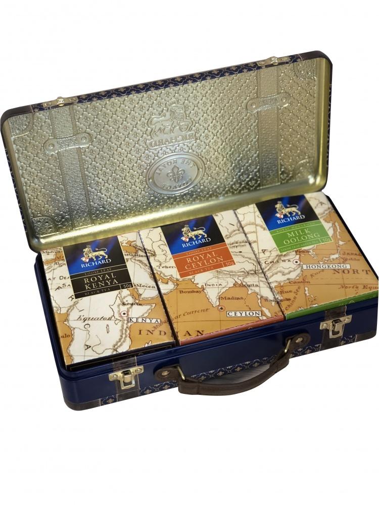 Чай Richard Royal Voyage ассорти листовой 150 г фото