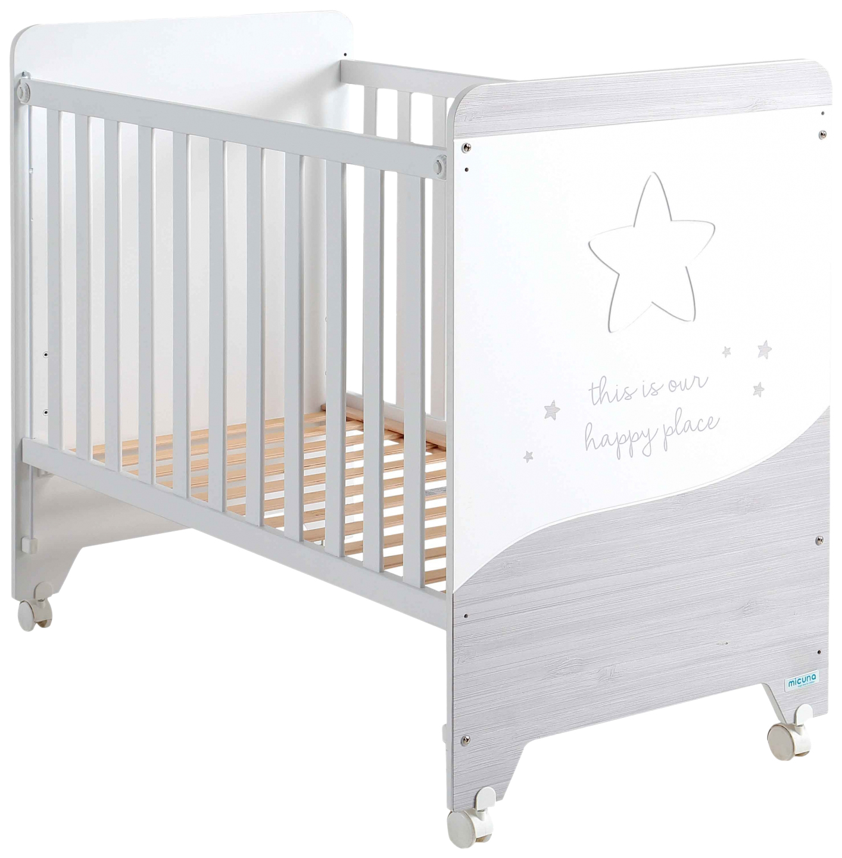 Купить Кровать Micuna Cosmic (Микуна Космик) 120*60 white/ash, Классические кроватки