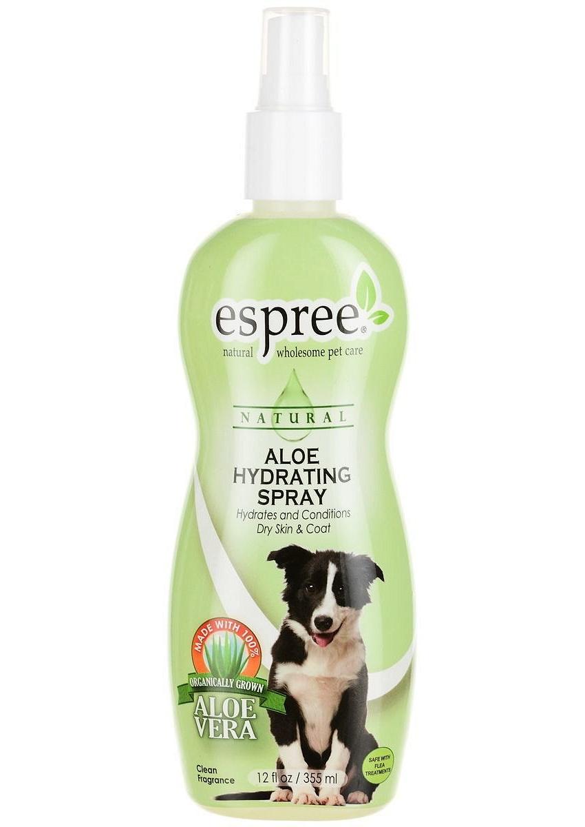 Спрей Espree CR Aloe Hydrating Spray увлажняющее с алоэ для собак и кошек 355 мл.