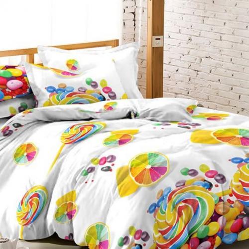 Комплект постельного белья полутораспальный Amore Mio, Candy