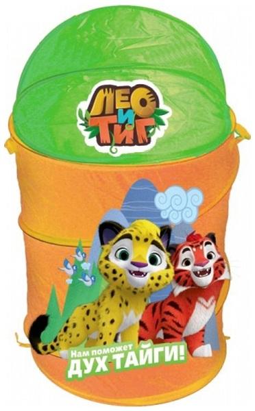 Корзина для игрушек Лео и Тиг 43x60см