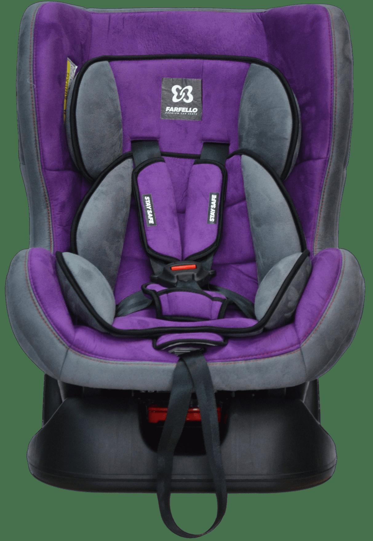 Автокресло детское Farfello, цв. серо-пурпурный GE-Bв 5