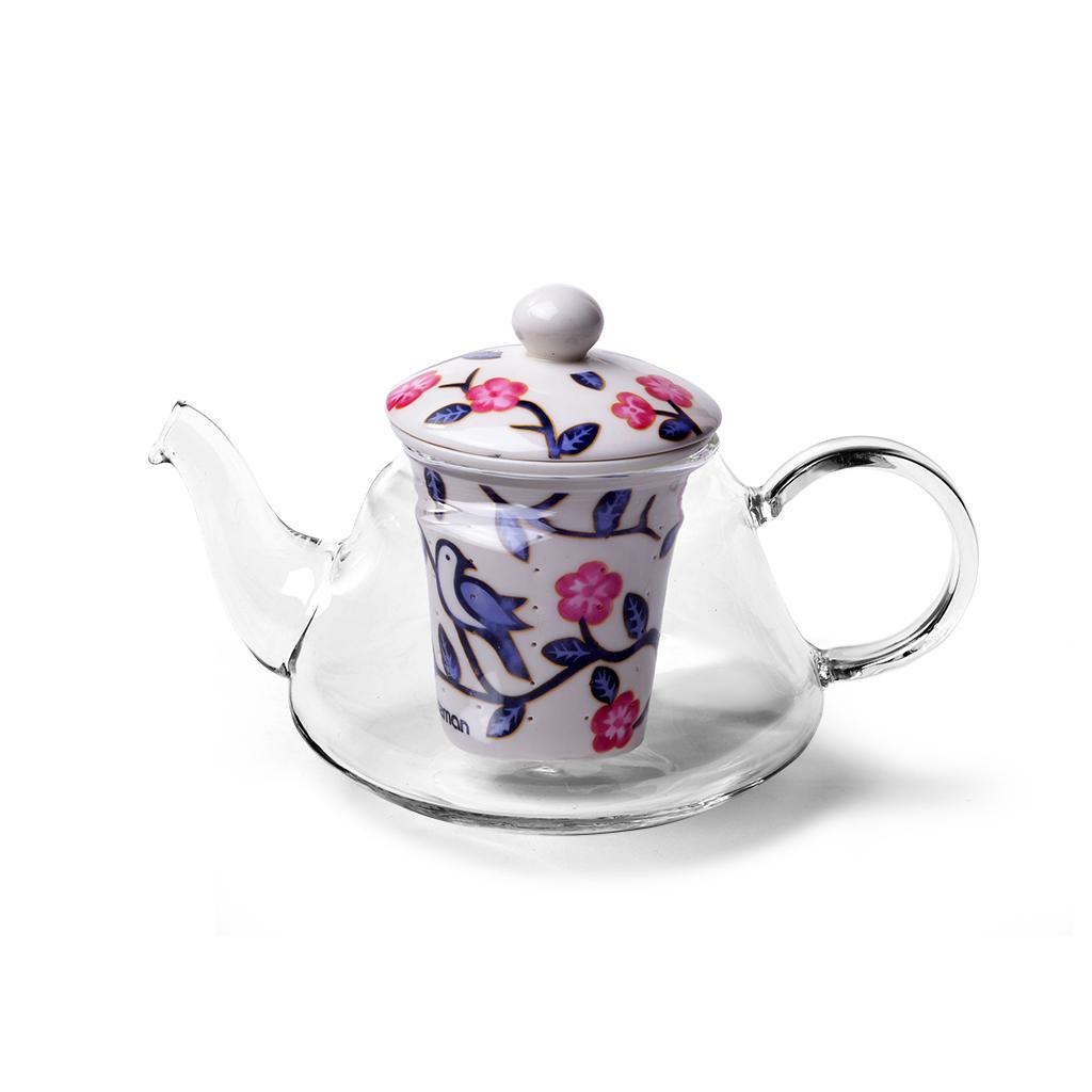 Заварочный чайник Fissman 9274 Прозрачный