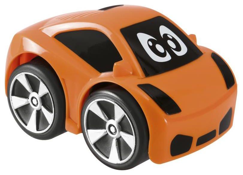 Купить Мини-машинка Chicco Turbo Touch Oliver Оранжевый, Игрушечные машинки