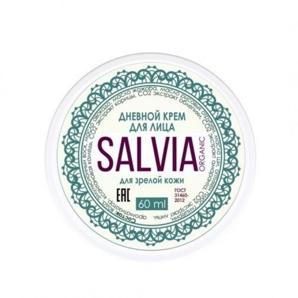 Крем для лица SALVIA Дневной для зрелой кожи 60 мл фото