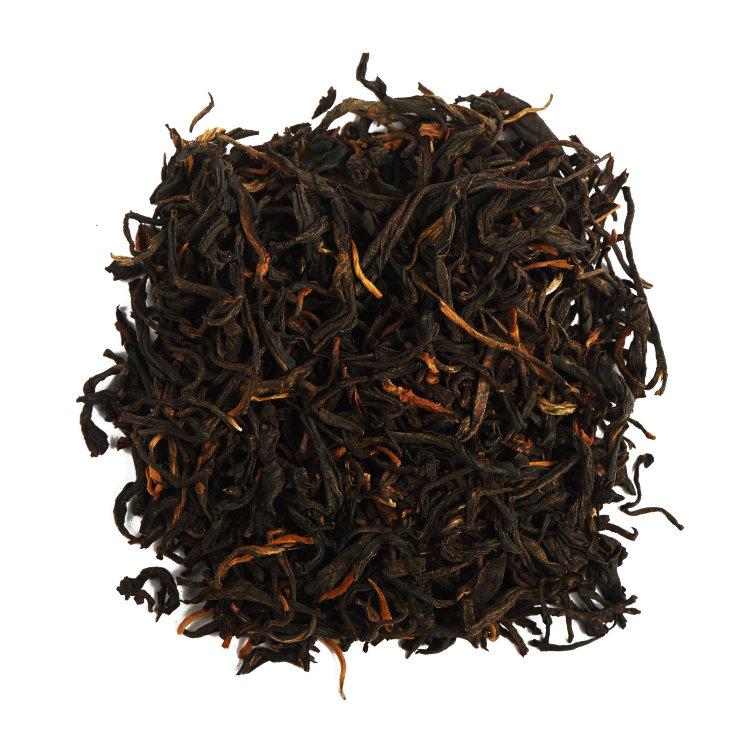 Красный чай Чайный лист дянь хун красный чай с земли Дянь 50 г фото