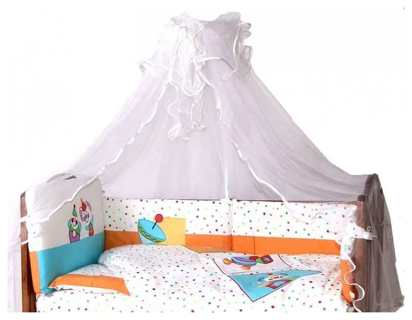 Балдахин для детской кроватки Feretti Puppet Белый