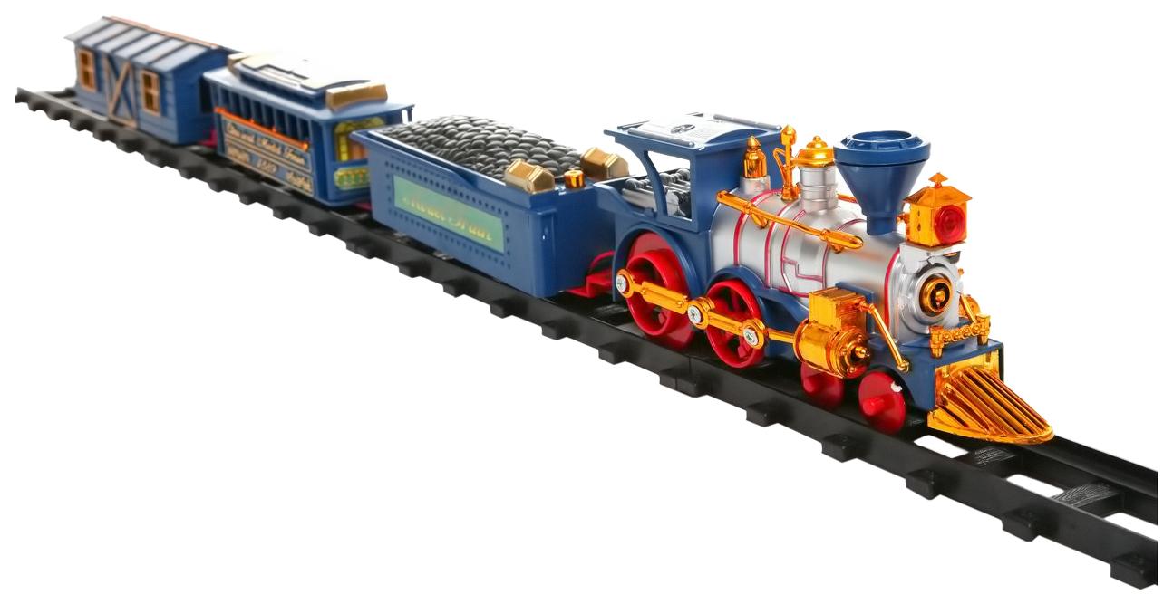 Купить Железная дорога Play Smart 0620 Железная дорога 1889 на р/у свет звук с аксессуарами, PLAYSMART, Детские железные дороги
