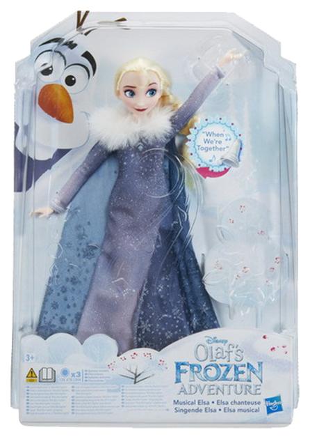 Купить Фигурки сказочных персонажей Hasbro Disney Princess Холодное сердце поющая Эльза C2539EW0, Игровые фигурки