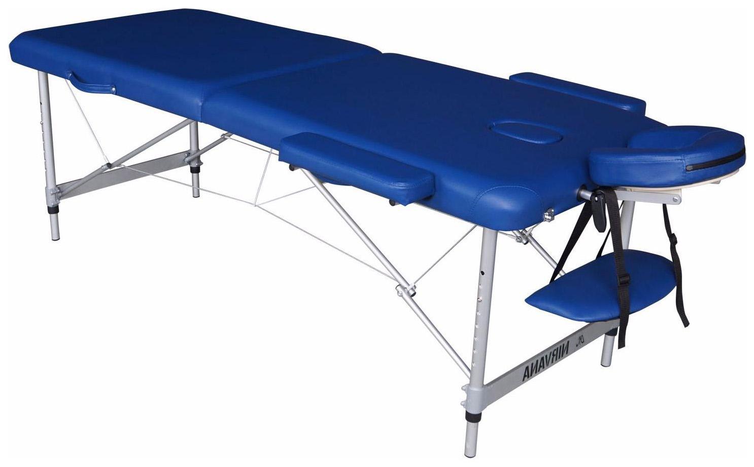 Массажный стол DFC Nirvana Elegant Luxe голубой фото