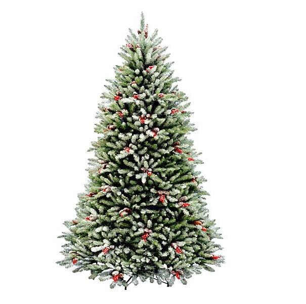 Ель искусственная National Tree Company снежная сказка 183 см фото