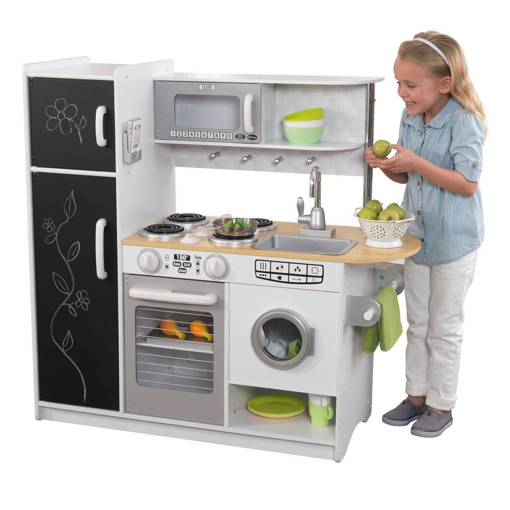 Купить Кухня Перчинка белая KidKraft 53352_KE, Детская кухня