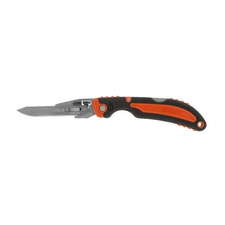 Туристический нож Gerber Vital Pocket Folder черный/оранжевый